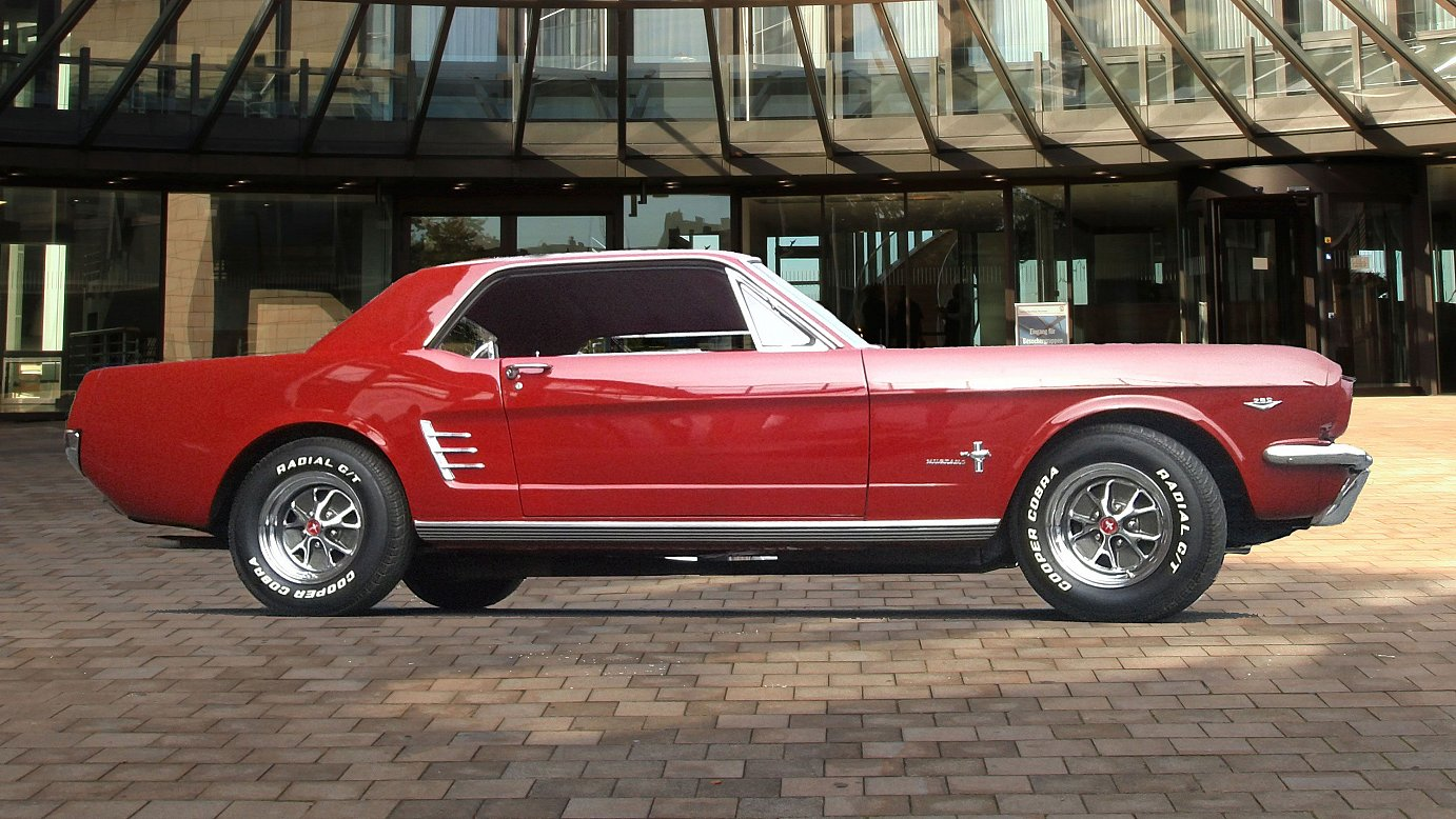 Ford Mustang Coupe 1966 V8 mieten