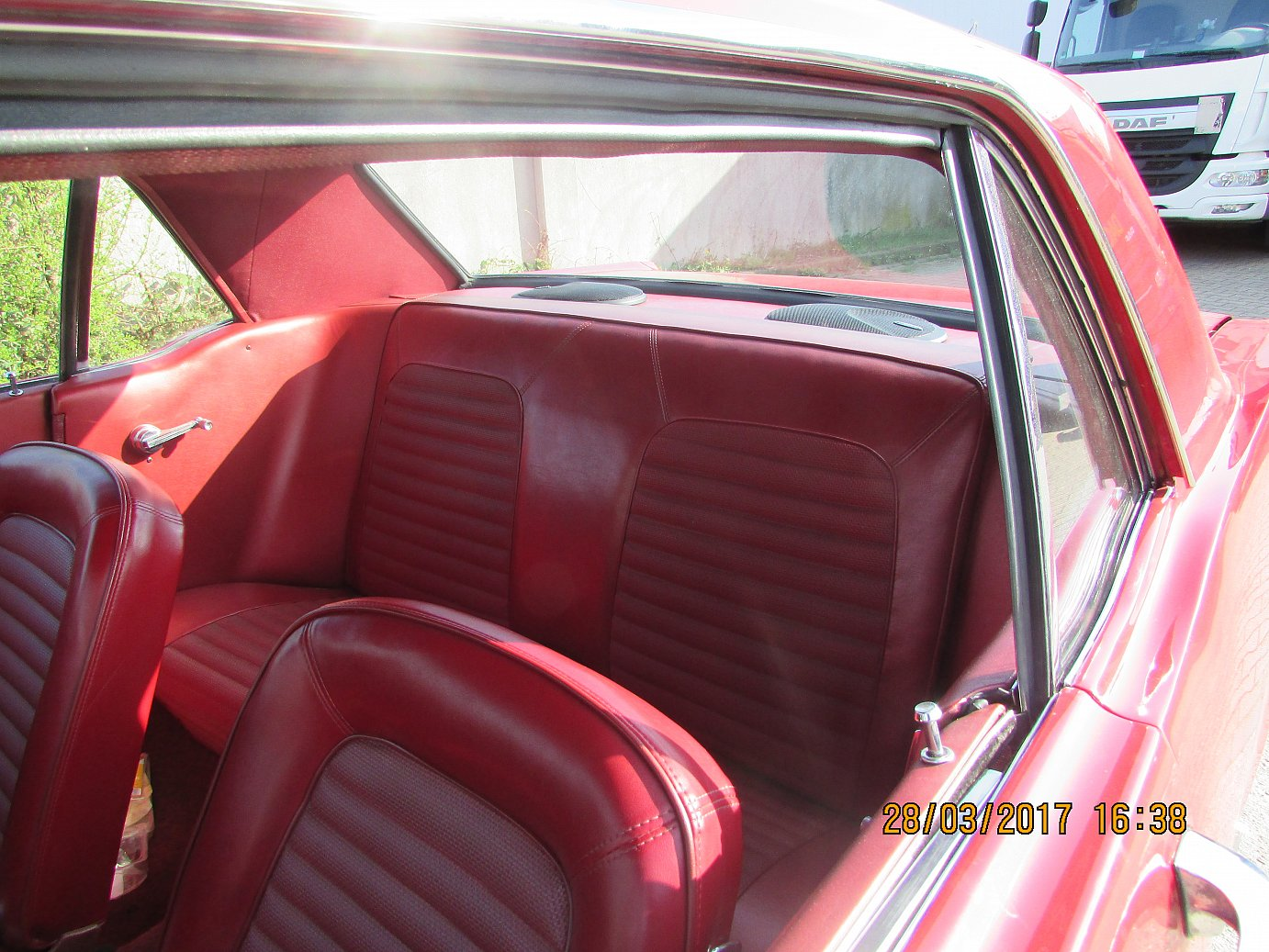 1966 Mustang Coupe Innen1